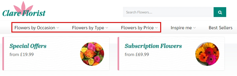 The best online flower delivery from Clare Florist