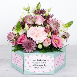 Flower card «Birthday Beauty»