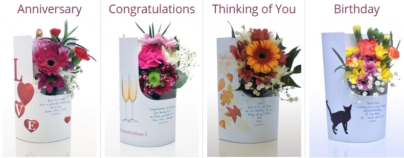 Floral card company in the UK