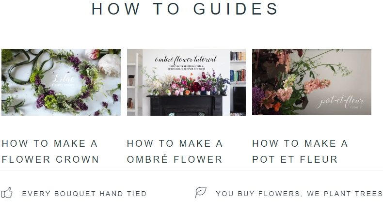 How-to Articles from Arena Flowers