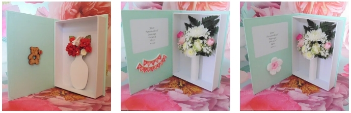 Letterbox Flower Cards - BeMyFlowers.co.uk