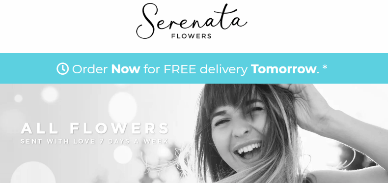 Flowers delivery in Liverpool from Serenata Flowers